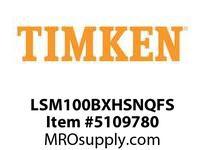 TIMKEN LSM100BXHSNQFS Split CRB Housed Unit Assembly