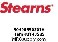 STEARNS 50400550301B 5.5CB/BR:M & COIL 6VDC 8032228