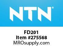 NTN FD201 CAST HOUSINGS