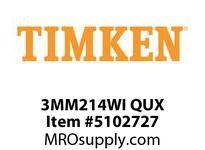 TIMKEN 3MM214WI QUX Ball P4S Super Precision