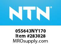 NTN 0S5643NY170 BRG PARTS(PLUMMER BLOCKS)