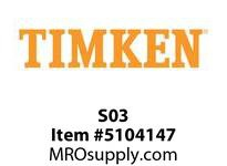 TIMKEN S03 Split CRB Housed Unit Component