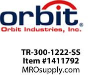 Orbit TR-300-1222-SS 12V~22V PROFESSIONAL 300W TRANS MULTI-TAP STAINLESS STEEL