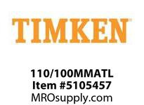 TIMKEN 110/100MMATL Split CRB Housed Unit Component