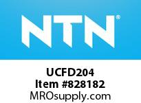 NTN UCFD204 Bearing Units - Cast Iron