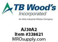 TBWOODS AJ30A2 AJ30-AX2 FF COUP HUB