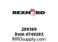 REXNORD 209369 589721 375.S71-8.CPLG STR SD