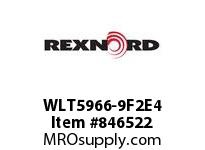 REXNORD WLT5966-9F2E4 WLT5966-9 F2 T4P WLT5966 9 INCH WIDE MATTOP CHAIN WI