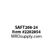 PTI SAFT208-24 2-BOLT FLANGE BEARING-1-1/2 SAFT 200 SILVER SERIES - NORMAL DUT