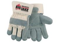 MCR 1715PXL Big Jake Leather Palm and Fingers 4.5 Gauntlet Cuff Sewn w/KEVLAR