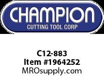 Champion C12-883 CARB TIPPED SQ NOSE TOOL