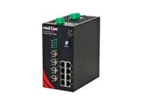 NT24K-12SFP-DM4-POE 12-Port Gigabit Managed POE+ Industrial Ethernet Switch (8 10/100/1000BaseT 4 Dual Mode (100