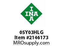 INA 05Y03HLG Thrust ball bearing