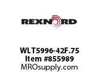 REXNORD WLT5996-42F.75 WLT5996-42 F.75 T11P N9.7 WLT5996 42 INCH WIDE MATTOP CHAIN W