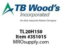 TBWOODS TL20H150 TL20H150 1215 TIM PULLEY