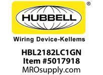 HBL_WDK HBL2182LC1GN LOAD CTRL HGR SPLT CIRC 20A 5-20R GN