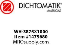 Dichtomatik WR-3875X1000 WEAR RING 40 PERCENT GLASS FILLED NYLON WEAR RING