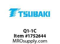US Tsubaki Q1-1C Q1-1 3/16 SPLIT TAPER BUSHING