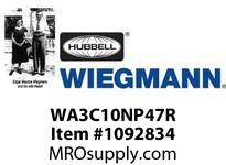 WIEGMANN WA3C10NP47R ACNEMA1210000BTU115V60HZ