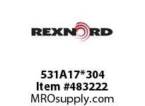 REXNORD 6179687 531A17*304 531-A17 EV 3