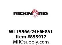 REXNORD WLT5966-24F6E8ST WLT5966-24 R6 T8P STAG
