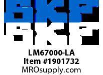 SKFSEAL LM67000-LA VSM BRGS