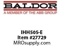 BALDOR IHH505-E H2I 600AC 3PH 5HP