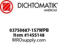 Dichtomatik 03750687-157WPB WIPER