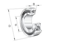 FAG 2211K.2RS.TV.C3 SELF-ALIGNING BALL BEARINGS