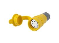 HBL_WDK HBL15W49 CONN W/TIGHT 6-15R 15A 250V