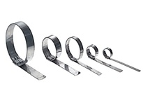 "QS3149 Jr. Smooth I.D. Clamp GCS 3/4"" x .03"" 4-1/2"" Diameter"