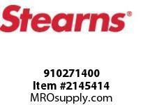 STEARNS 910271400 MSRH #8-32 X 7/8-PL STL 8089351