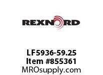 REXNORD LF5936-59.25 LF5936-59.25 LF5936-59.25 MATTOP CHAIN
