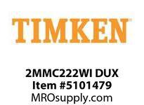 TIMKEN 2MMC222WI DUX Ball P4S Super Precision
