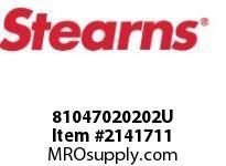 STEARNS 81047020202U HSG PLST-1.75 D SHFT HOL 8010734