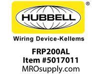 HBL_WDK FRP200AL 2^ TO 1-1/2^ REDUCING BUSHING ALUMINUM