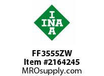 INA FF3555ZW Flat needle cage assembly
