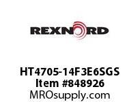 REXNORD HT4705-14F3E6SGS HT4705-14 F3 T6P S3 N2