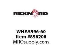 REXNORD WHA5996-60 WHA5996-60 WHA5996 60 INCH WIDE MATTOP CHAIN W