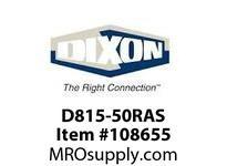 """DIXON D815-50RAS 1 1/2"""" 50 800# DJ RL AL NPSH"""