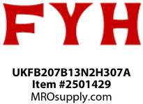 FYH UKFB207B13N2H307A 1 3/16in ND TB 3B*RS 45*W/ ADA