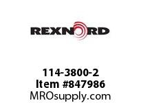 REXNORD 114-3800-2 KU1500-14T 25MM KW ACETAL KU1500-14T SOLID SPROCKET WITH 25MM