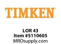 TIMKEN LOR 43 SRB Pillow Block Component