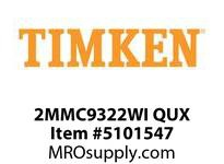 TIMKEN 2MMC9322WI QUX Ball P4S Super Precision