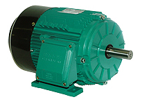 Brook Crompton PA2M010-2C 10HP 3600RPM 208-230/460V Aluminum IEC 132S C Face