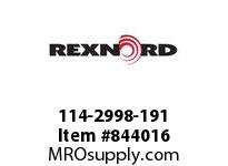 REXNORD 114-2998-191 ATCH GLD6085 F1 N2 TP