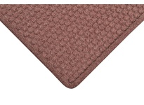 NoTrax 150S0410BD 150 Aqua Trap 4X10 Burgundy Aqua Trap is a unique yet highly functional indoor entrance mat with a molded bubble pattern that facilitates the scraping and drying process while the patented raised Aqua Dam border forms a pe