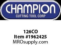 Champion 126CO #705C COBALT DRILLS