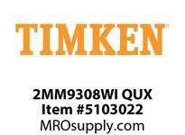 TIMKEN 2MM9308WI QUX Ball P4S Super Precision
