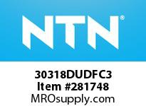 NTN 30318DUDFC3 MEDIUM SIZE TRB 101.6<D<=203.2